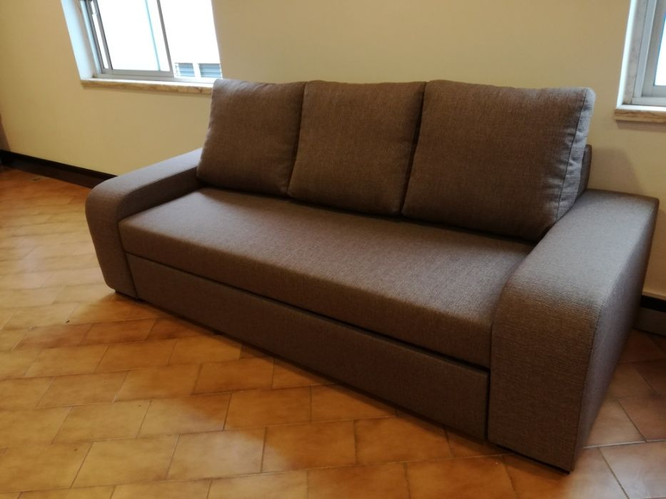 Sofá cama Redondela novo de fábrica com 230 cm Malveira E São Miguel De Alcainça - imagem 3