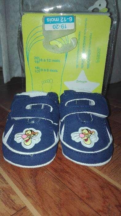 Sapato criança 6-12 meses