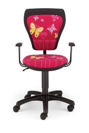 Krzesło obrotowe dziecięce Ministyle Butterfly czarne kup