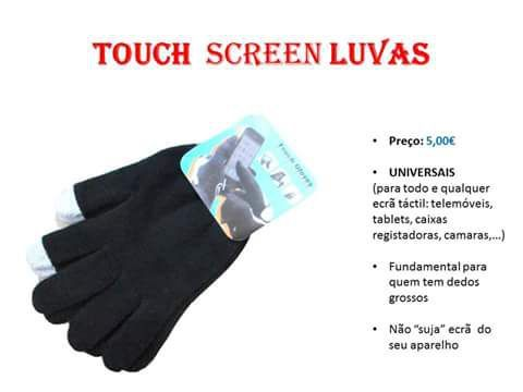 Luvas touch universal