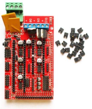 RAMPS 1.4 Controller Board Impressora 3D Prusa Medel Robótica Arduino