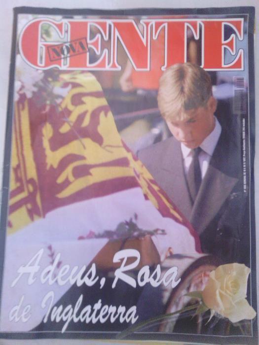 Nova Gente Adeus Diana Rosa de Inglaterra Edição especial de 1997