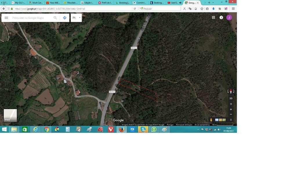 Terreno rustico junto estrada N319-2 em PAREDES