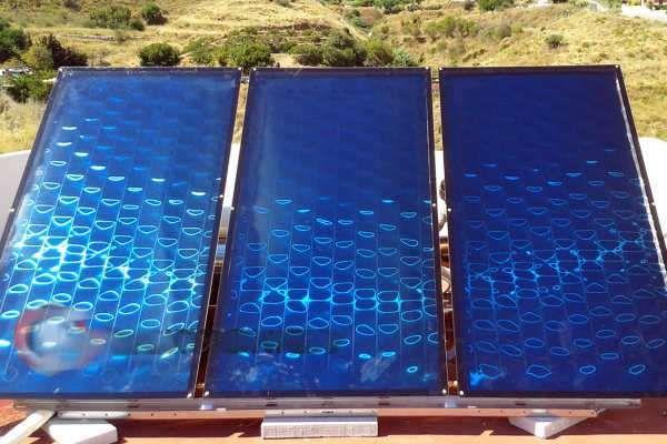 Painel Solar Termico Novos Certificados 10Anos garantia...