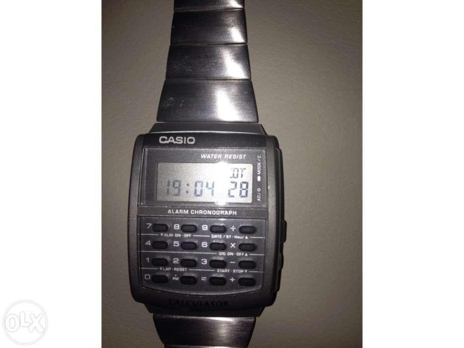 Relógio casio como novo original