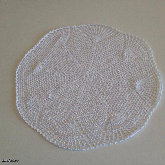 panos em croché artesanais