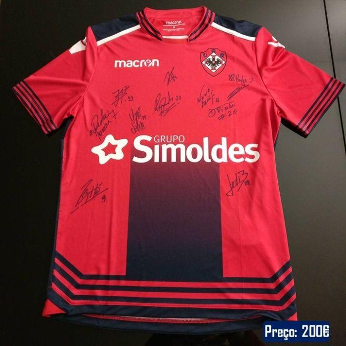 Camisola oficial do União Desportiva Oliveirense 2017/18*Hóquei Patins