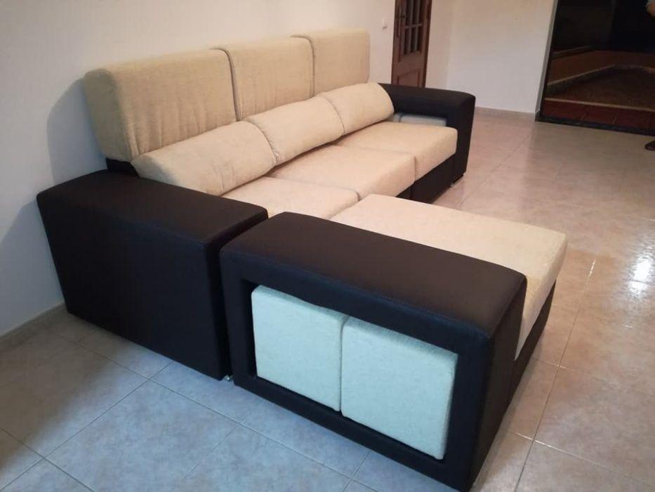 Sofá Cordoba com 270 cm, novo de fábrica chaise longue reversível Malveira E São Miguel De Alcainça - imagem 1
