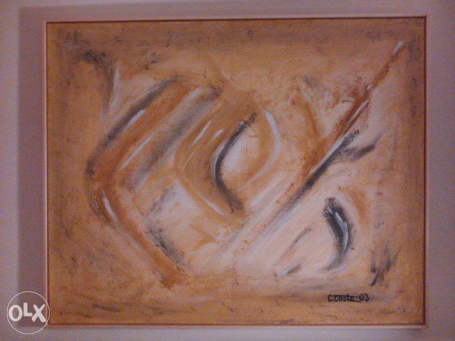 Tela a óleo 100x80 cm de Carlos Costa