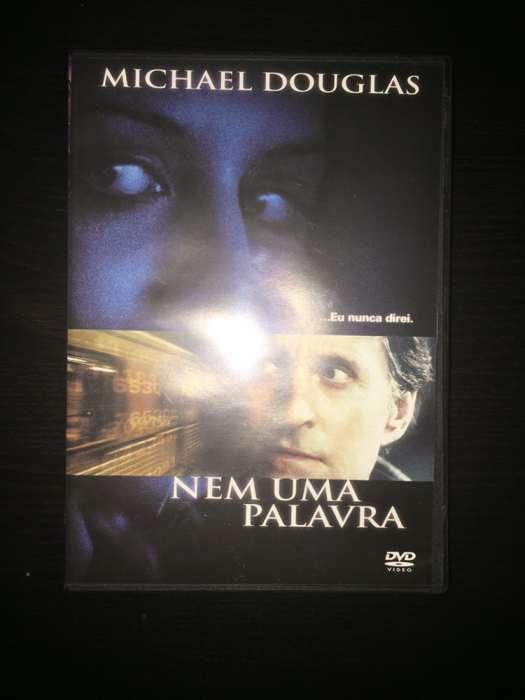 """DVD """"Nem uma palavra"""" (como novo)"""