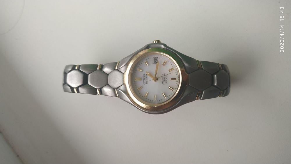 Citizen eco-drive Titanium WR 100