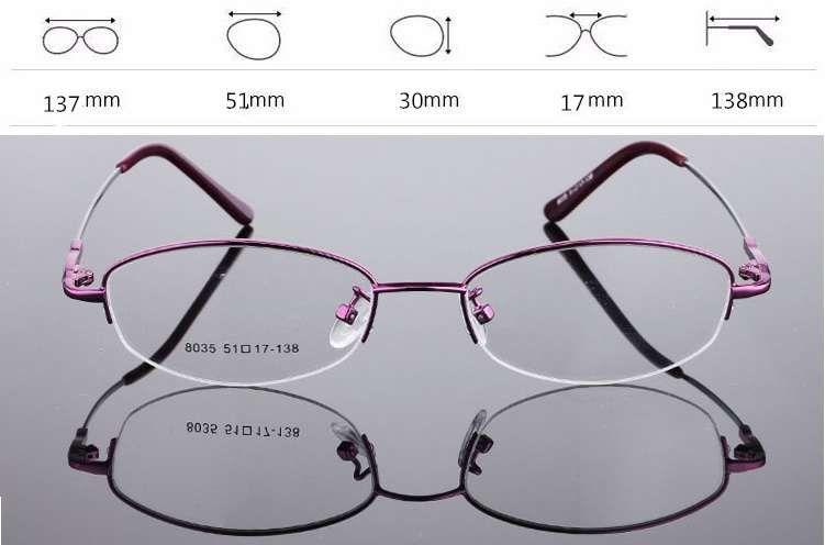 840251f68e1fb Armação - Óculos de titânio para lentes graduadas, NOVOS, roxo Vila de  Prado • OLX Portugal