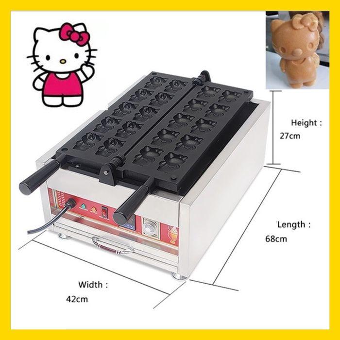 Maquina waffles Hello Kitty com CRÉDITO