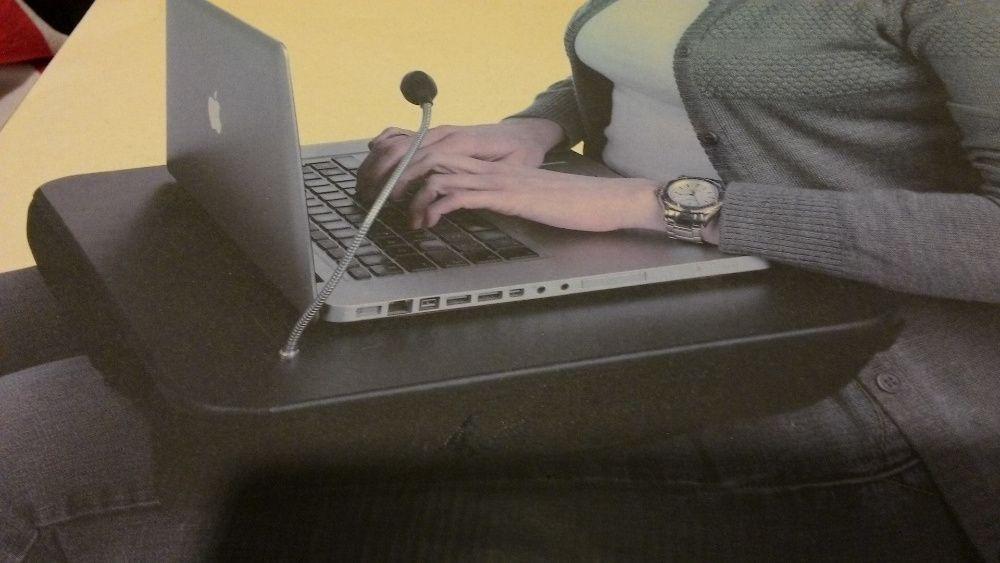 Mesa Laptop com candeeiro led nova (embalagem selada)