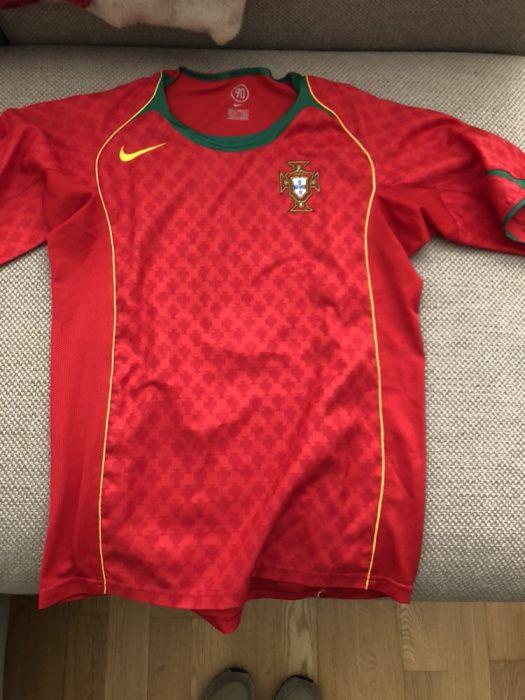 d4c5b89b0d Camisola Portugal - Santa Marinha E São Pedro Da Afurada - Camisola oficial  da seleção de