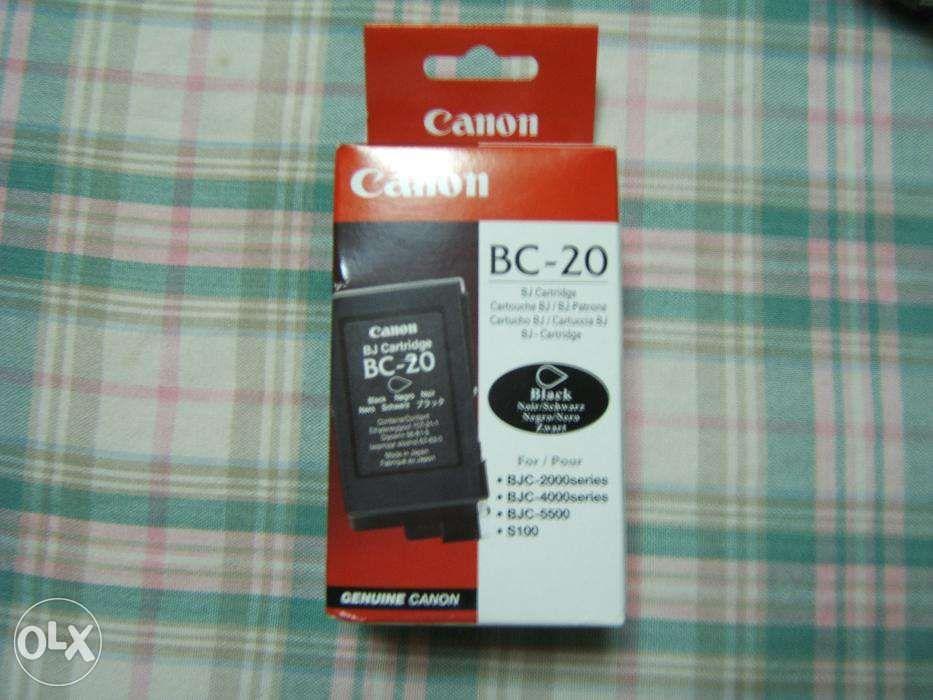 Tinteiro Original Canon BC-20