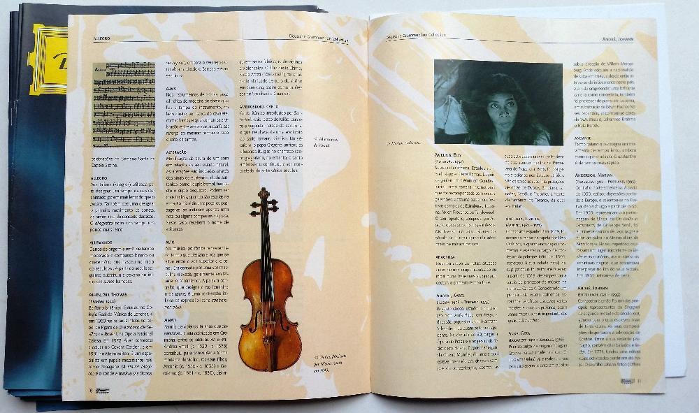 Coleção da História da Música + 101 CDs da «Deutsche Grammophon» Caldas da Rainha - imagem 4