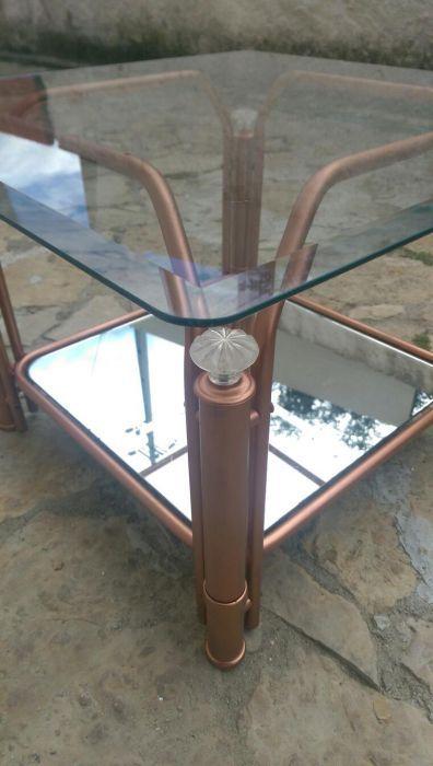 Mesa de Centro em Ferro - Bronze