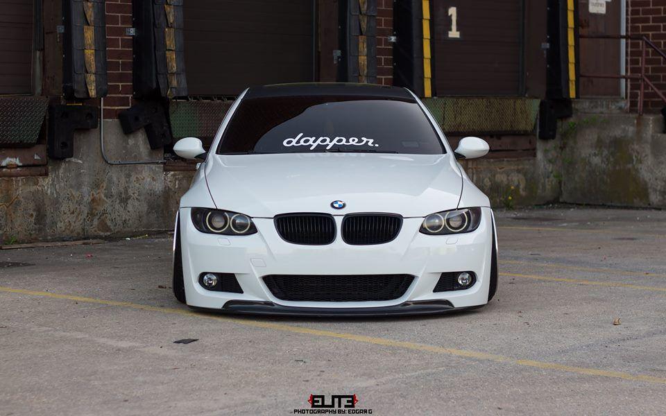 Aba/Lamina para choques frontal BMW E92 1ª Fase