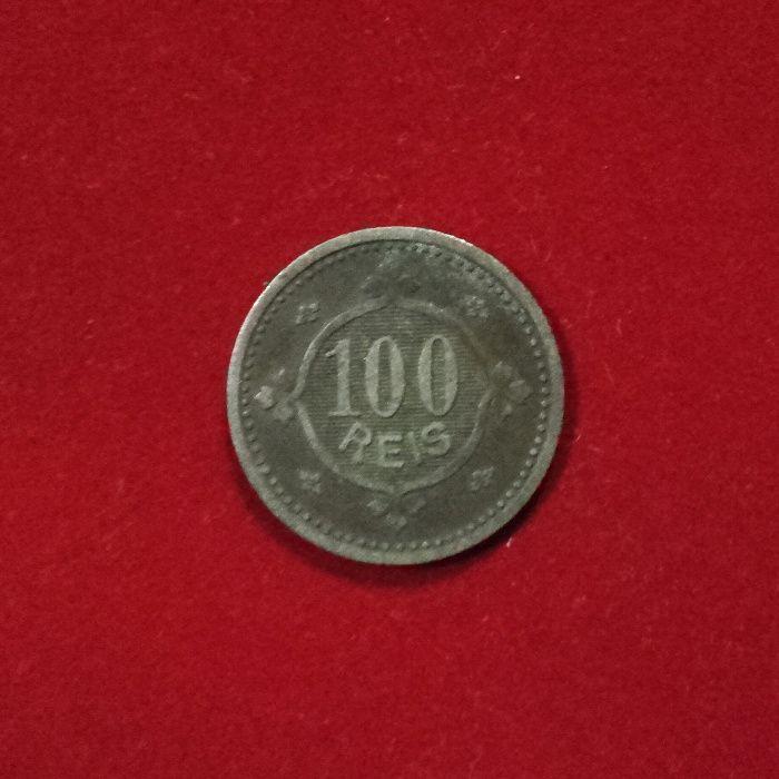 Moeda 100 Reis D Carlos I 1900 BC