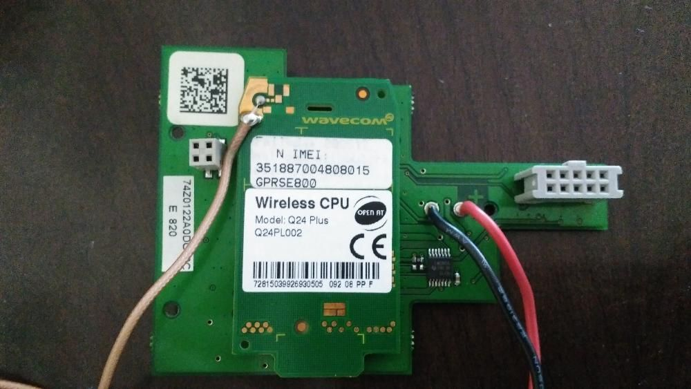 Placa wireless central alarme