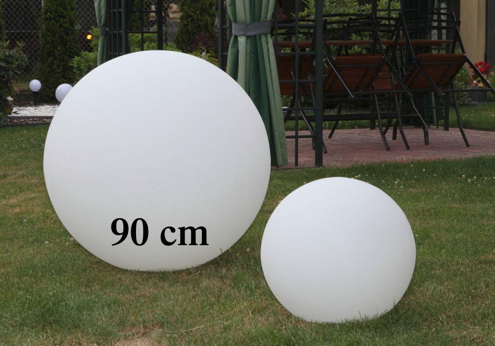 lampy ogrodowe kule duże
