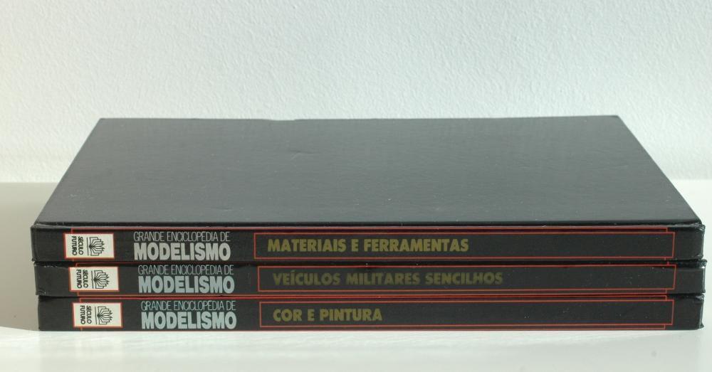 Grande Enciclopédia do Modelismo - 3 volumes