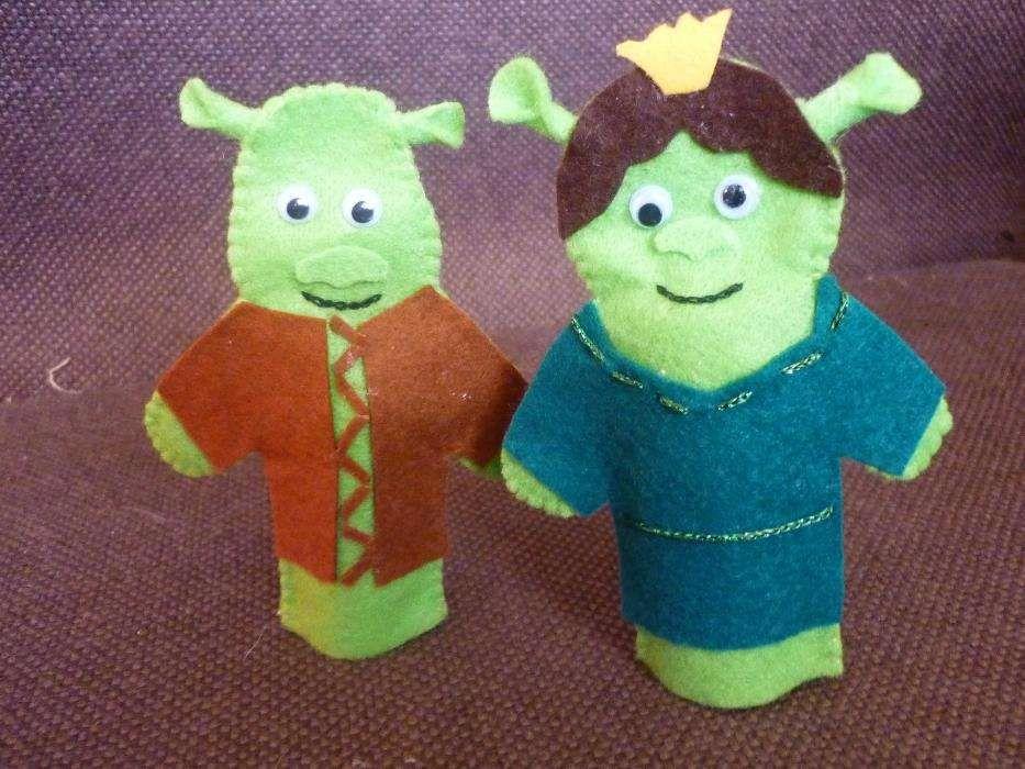 Shreck/Fiona/Egas/Becas/Miss Piggy/Cocas/Minimons/DÁrtacão e Julieta