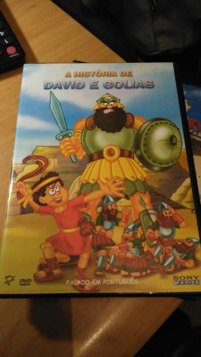 História de David e Golias