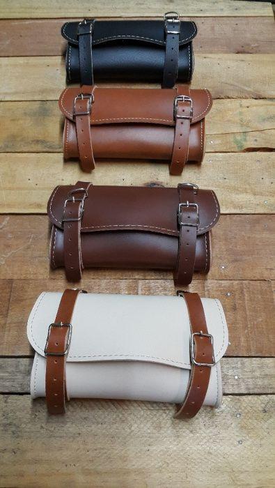 Bolsas quadradas em pele para selim bicicletas/classicas/fixie/retró