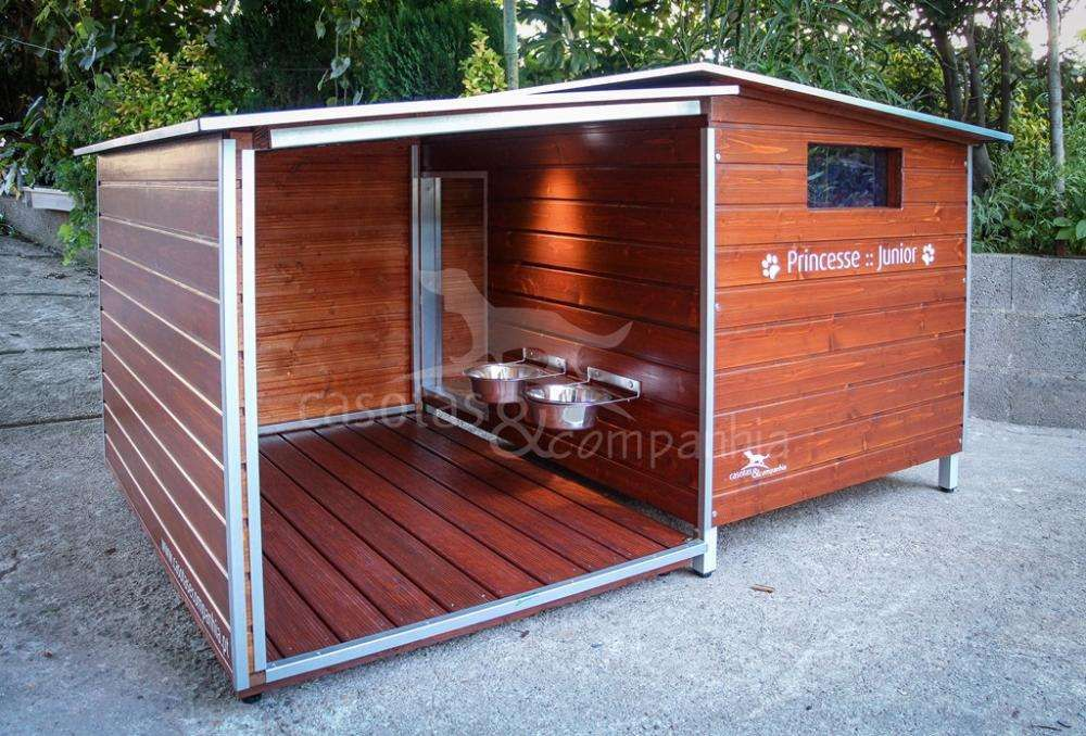 Casotas&Companhia! - Casota em Madeira Mod. Ares XL Plus (Novidade)