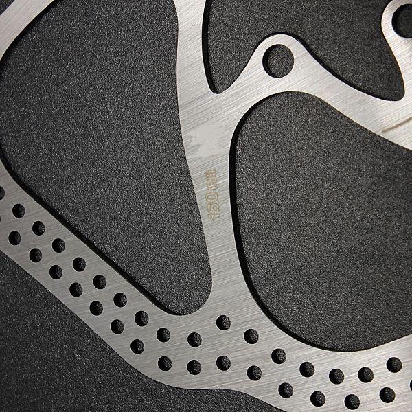 Disco travão bicicleta 140, 160, 180 mm, Novos