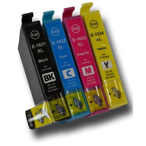 4 Tinteiros Compativeis Epson 16XL