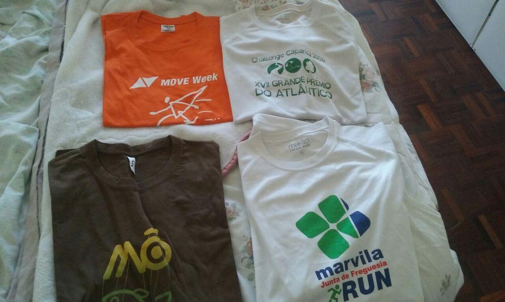 10 t-shirts M