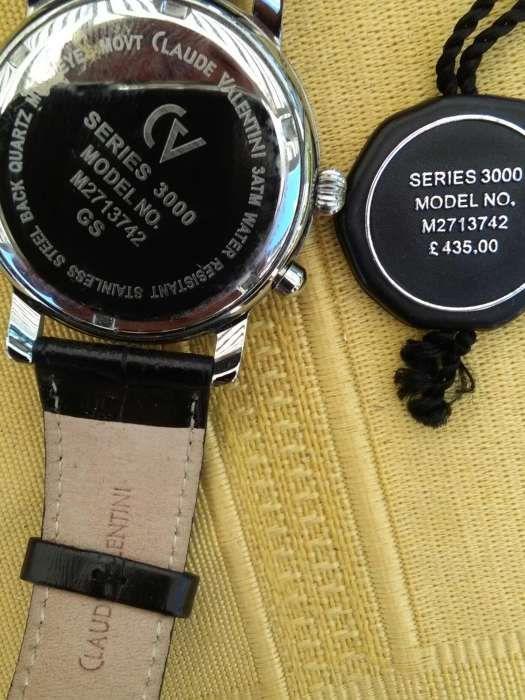 8827778819c Relógio Claude Valentini (homem) igual a novo - Faro (Sé E São Pedro