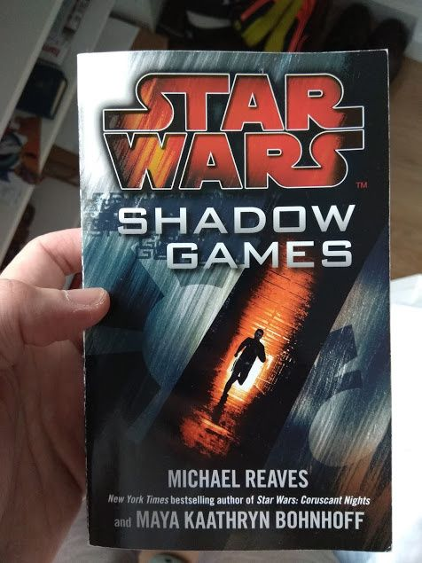 afb9ca1c04 Arquivo  Livro Star Wars Shadow Games usado como novo Carnaxide ...