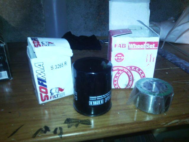 Corsa A rolamento / filtro oleo