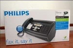 FAX Philips telefone e copiadora