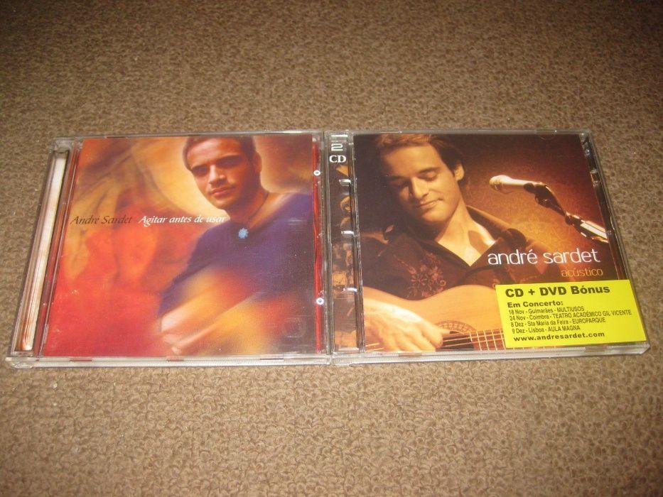 """2 CDs do """"André Sardet""""/Portes Grátis"""