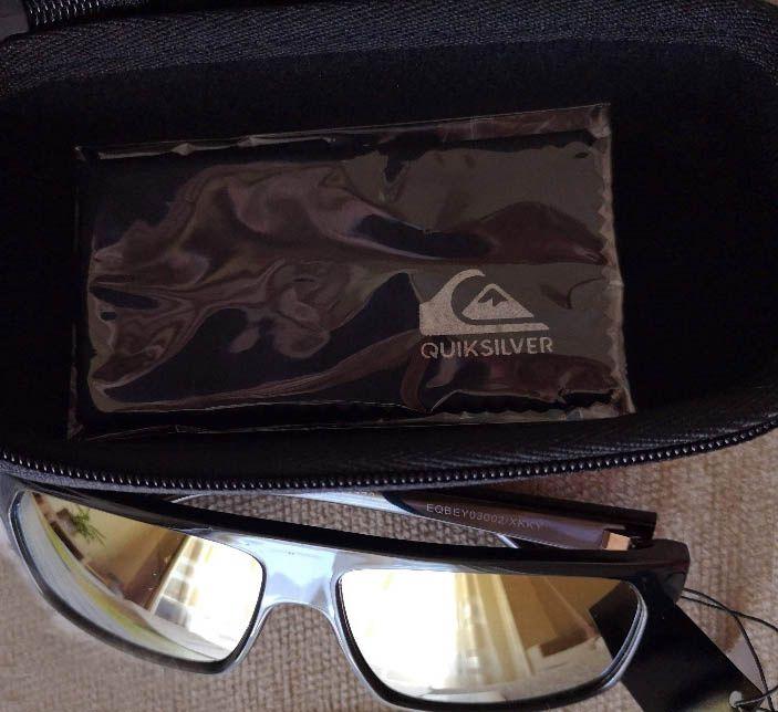 Óculos de Sol QUIKSILVER Moonchild Shiny Black Youth - Alcobaça - - ESTADO   NOVOS ORIGINAIS 90a2284ec0