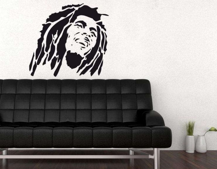ab5340543a384 Autocolante Decorativo de Parede Bob Marley Machico • OLX Portugal