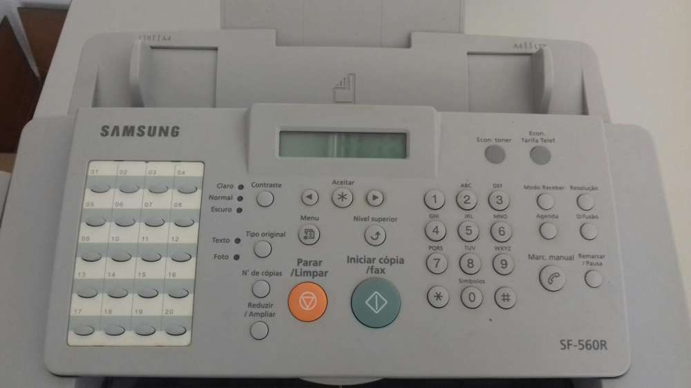 Fax Samsung SF-560 Laser Com Telefone