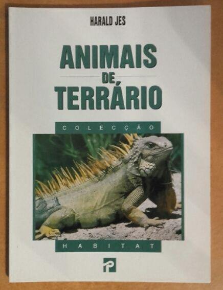 """Livro """"Animais de Terrário"""""""