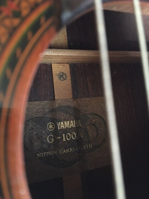Yamaha G 100A made in japan