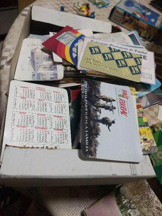 Coleccção centenas de calendários