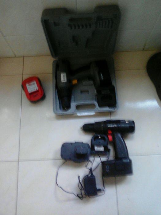 3 Aparafusadoras / Sem Fios + 1 Bateria Wurth
