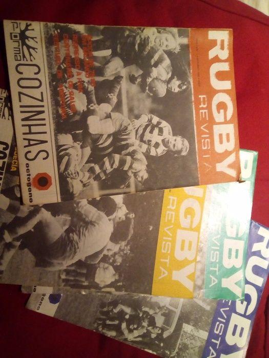 Revista rugby anos 80 e 81 primeiro numero