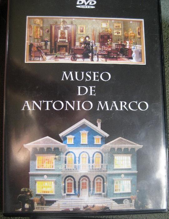 DVD Casas em Miniatura com pormenores - Museu Marco Antonio Bonfim - imagem 1
