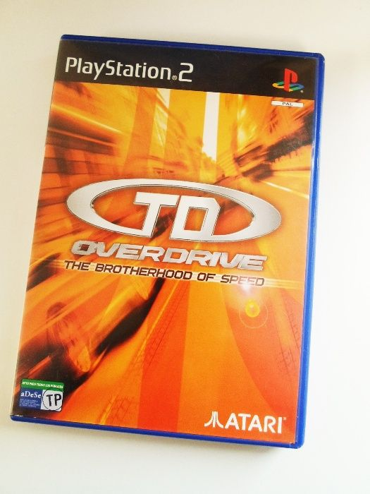 Jogo PlayStation 2 // TD Overdrive The Brotherhood of Speed