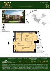 Wikana Residence - Mieszkanie nr B1.10